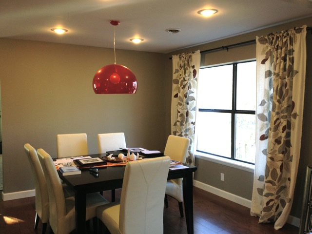 Gray Silt Dining Room