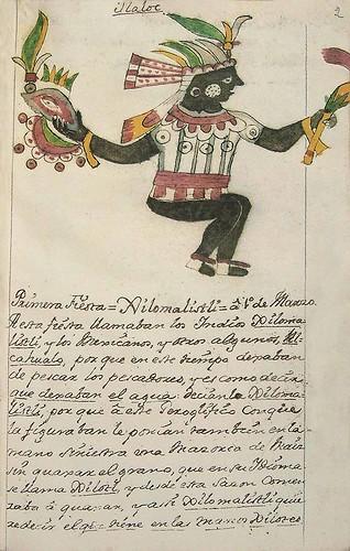 001- Primera fiesta Xilomalistli-Códice Veitia- Biblioteca Virtual Miguel de Cervantes