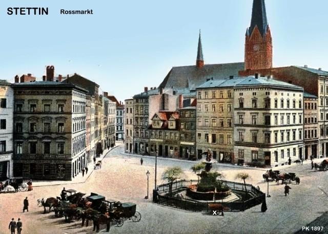 Stettin    Roßmarkt; 1897