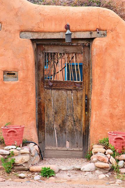 Door in santa fe nm flickr photo sharing