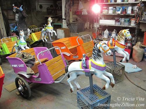 Mangels Pony Carts