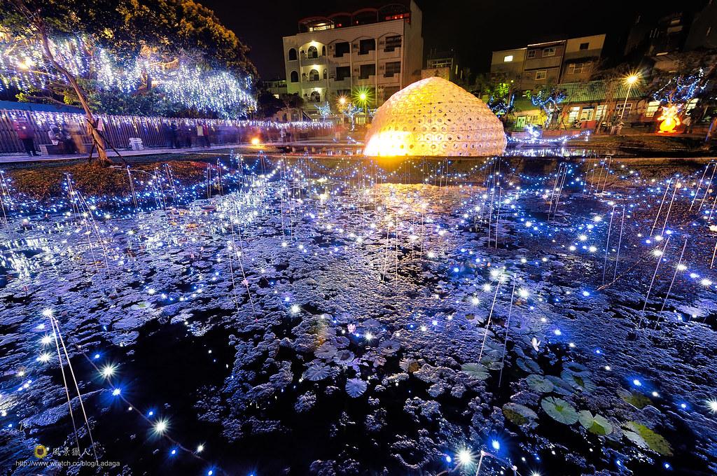 2013北港燈會 主燈 錦鯉伯伯大舞廳
