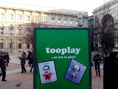 Joker & Pinocchio in piazza della Scala by Ylbert Durishti