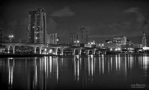 8513991852 74cfdf575f Downtown Miami   BW