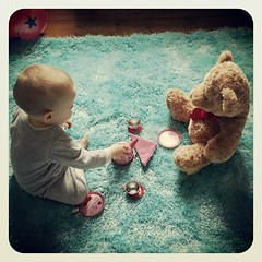Tea with Edward Bear