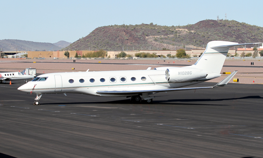 N102BG - G650 - Not Available