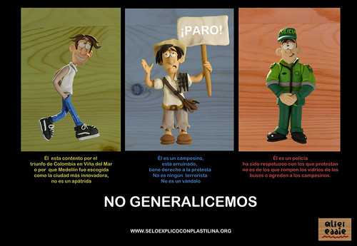 NO GENERALICEMOS by alter eddie