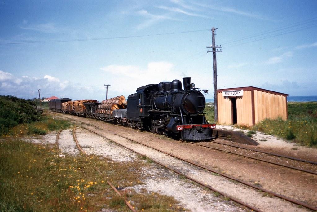 NZR 1955-11-23 Ub330 on 824 mixed arr South Beach