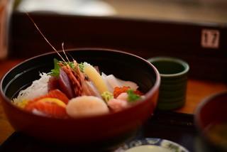 海鮮丼@大洗。