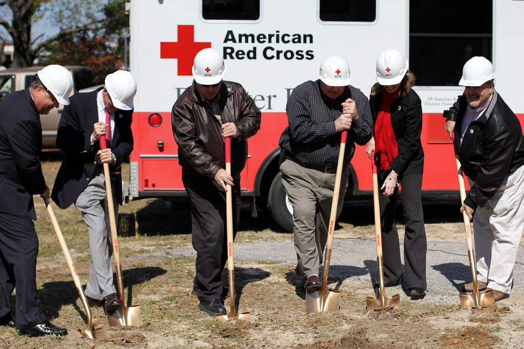 Lowcountry Red Cross Groundbreaking
