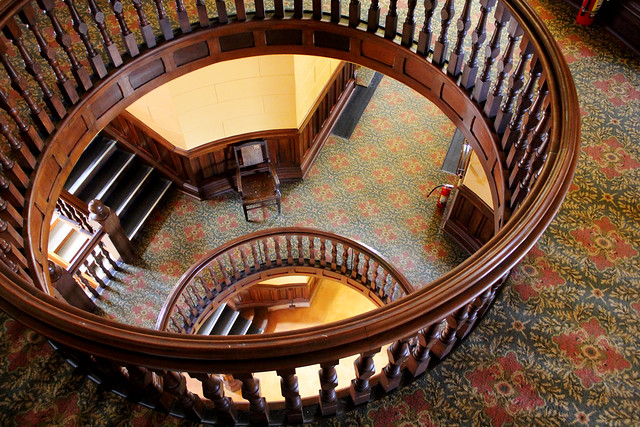 Courthouse stairs