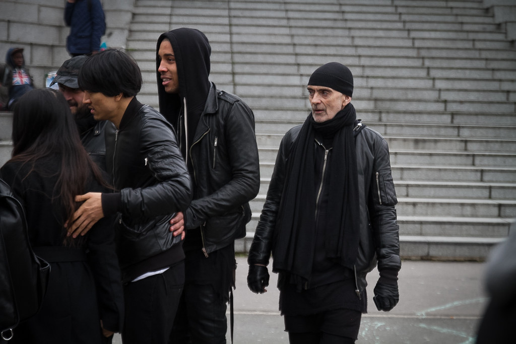 Tuukka13 - Street Style Outside Rick Owens Womens FW 13 RTW Show - Paris Fashion Week -14
