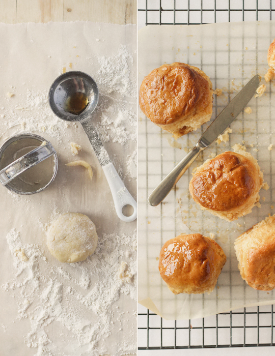 Maple Syrup Glazed Scones