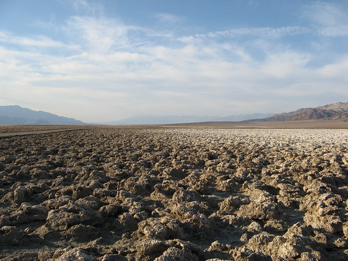 Devils Golf Course in Death Valley National Park, California