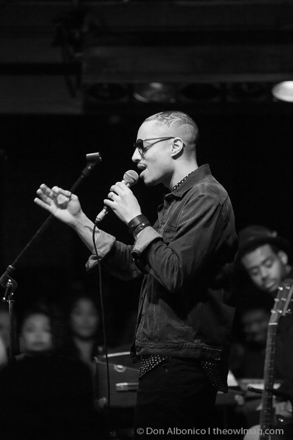 José James @ the New Parish, Oakland 3/9/13