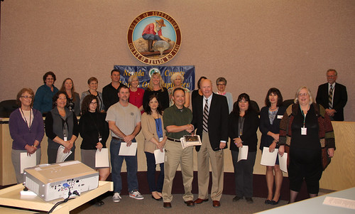 Nevada County 2013 Employee Awards