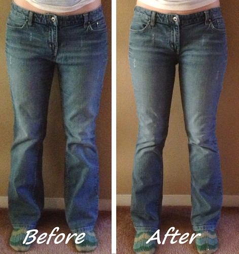 Jeans Refit Before & After