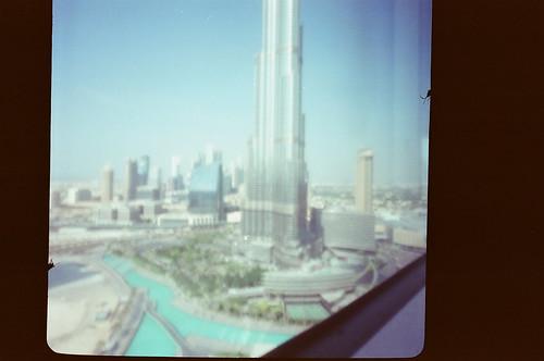 Burj Khalifa Pinhole