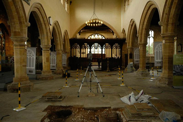 Laser scanning -St Peters