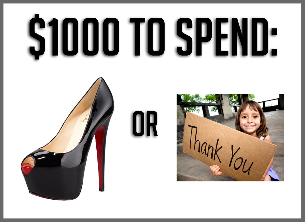 Article | $1000 to spend: Louboutins or...?