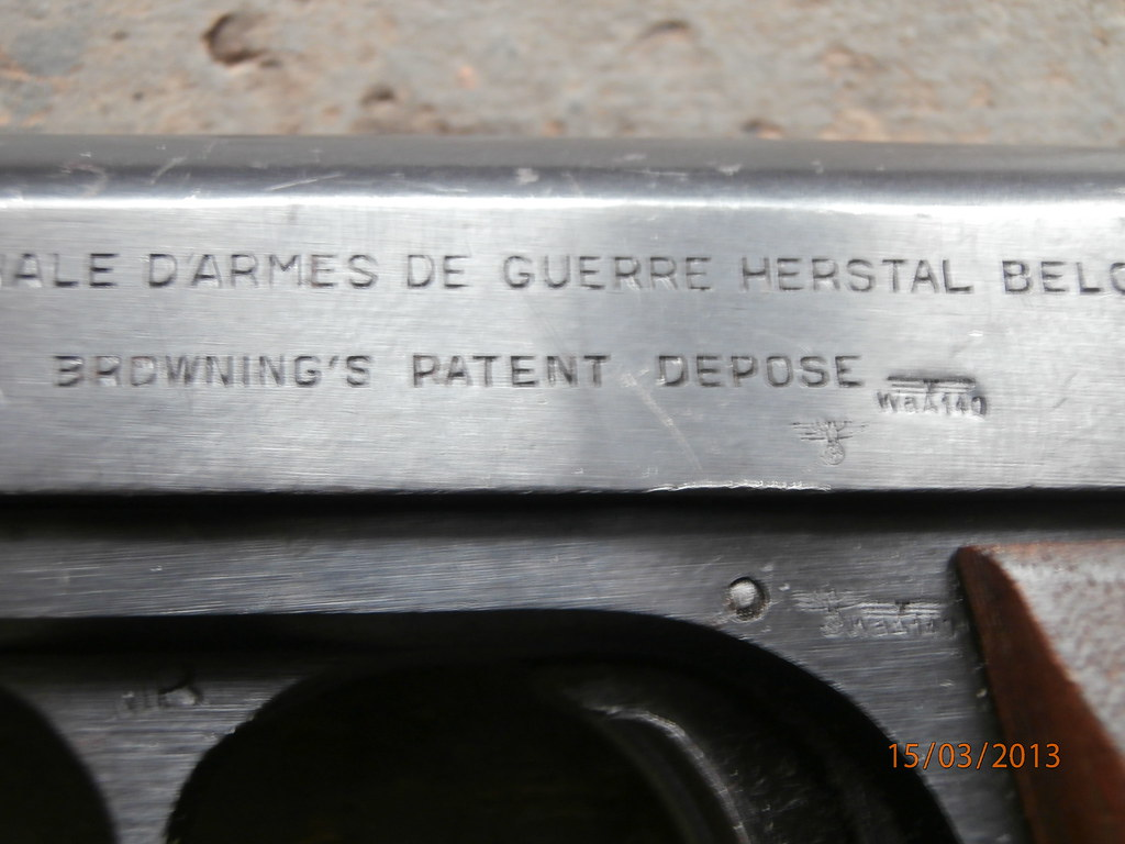 FN Browning 1910/22 - Wehrmacht-Awards com Militaria