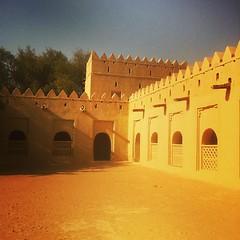 Sand fort #abudhabi