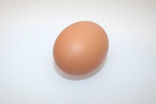 03 - Zutat Hühnerei / Ingredient egg