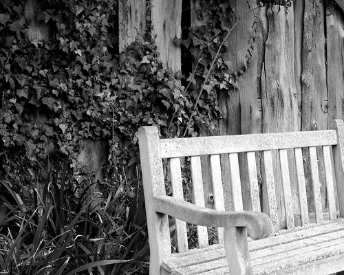 20130303-10_Baddesley Clinton - Ramshackled Shed + Garden Bench by gary.hadden