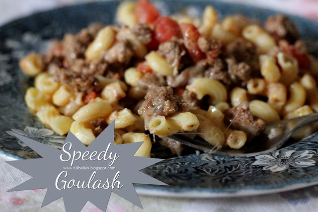 Speedy Goulash