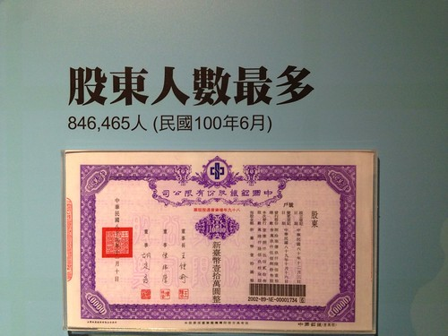 台灣股票股東人數最多