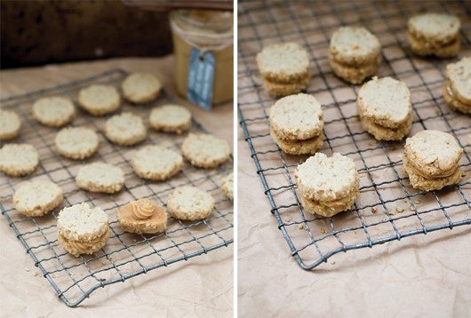 Walnut Dulce de Leche Sandwich Cookie Recipe