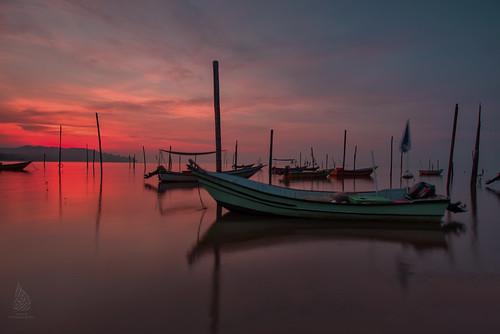 sunrise fishingboat hdr kuantan tanjunglumpur sifoocom nurismailphotography nurismailmohammed nurismail