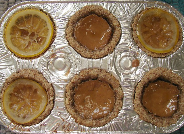 Earl Gray Custard Tarts