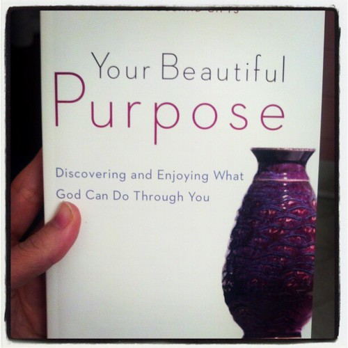 Probably a good day to start reading this. #Purpose
