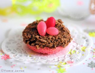 Turkish Delight mini doughnuts