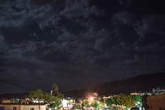 Τα πρώτα σύννεφα μέσα στο φετινό καλοκαίρι τον Δεκαπενταύγουστο 2016 στη Ψίνθο