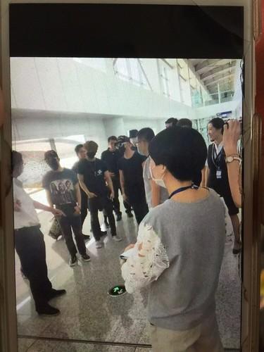 BIGBANG Arrival Dalian from Seoul 2015-06-26 158