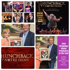 Don't miss @LaMiradaTheatre  #TheHunchbackOfNotreDame directed by @mtbeacon  - Glenn Casale, produced by The 2016 #BroadwayGlobal Producers of the Year Cathy Rigby McCoy and Tom McCoy at http://lamiradatheatre.com