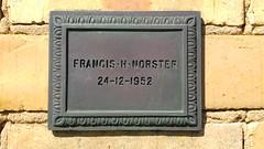 Fawkner Cemetery: Francis Henry Norster