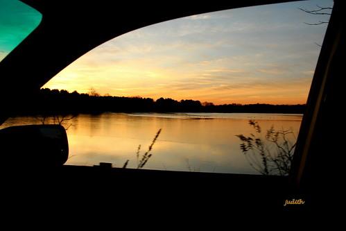 morning sky sunrise churchvillereservoir