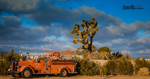 Old Fire Truck by Dave Mills Photo