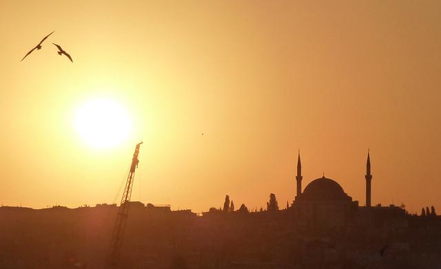 Turquie - jour 1 - Istanbul - 36 - Vue depuis le Pont de Galata