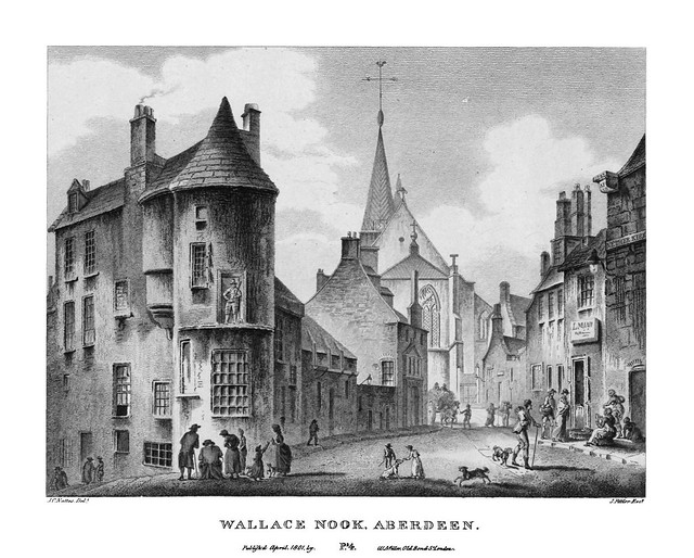 etching: Wallace Nook, Aberdeen