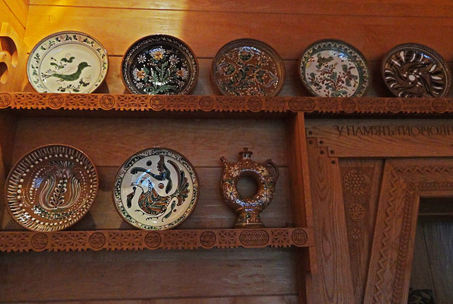 ukrainian-room-dishes nationality rooms