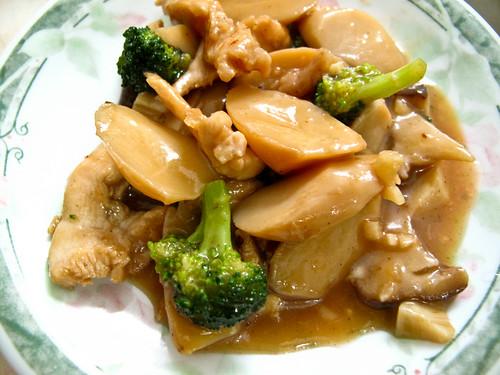 IMG_0072 Mushroom + chicken + broccoli