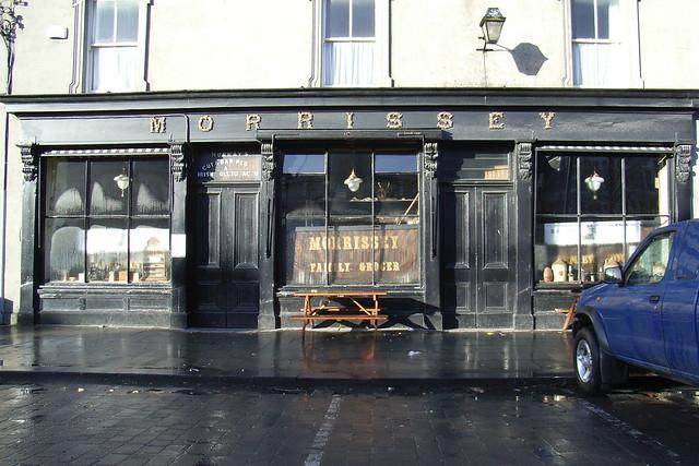 Morrissey, somewhere in Ireland, Jan 2007.
