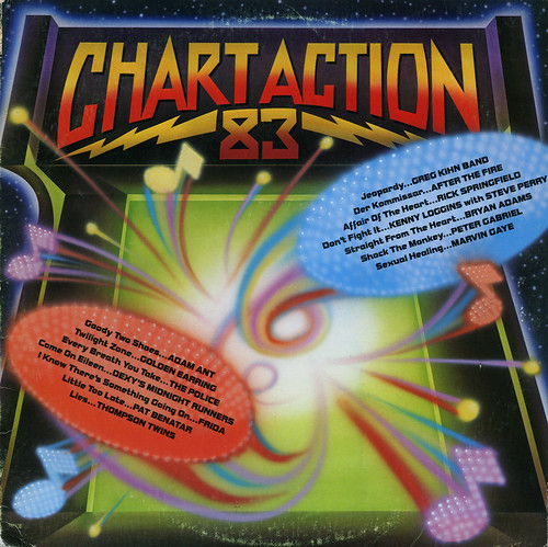 Chart Action 83 Record Album Cover
