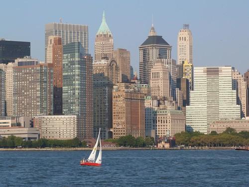 Imagen de Manhattan desde el Circle Line (Nueva York)