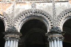 Arch Details in a Ruined Rajbari