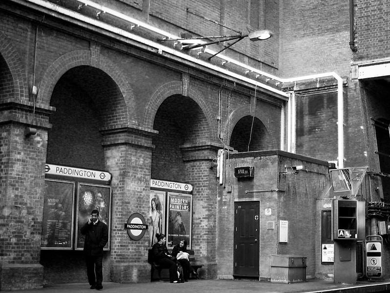 Waiting at Paddington Station